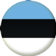 Estonia Country Flag 25mm Pin Button Badge